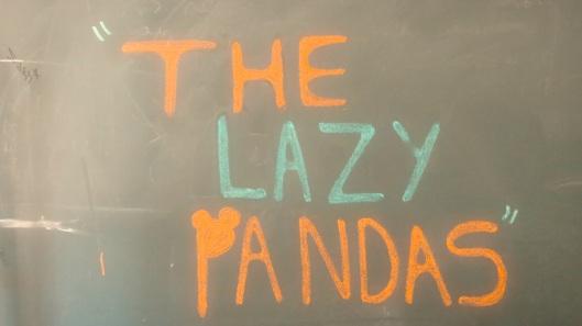 the lazy pandas